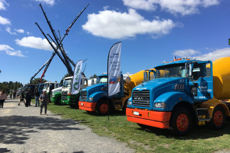 Trucking-industry-show-concrete-mixers