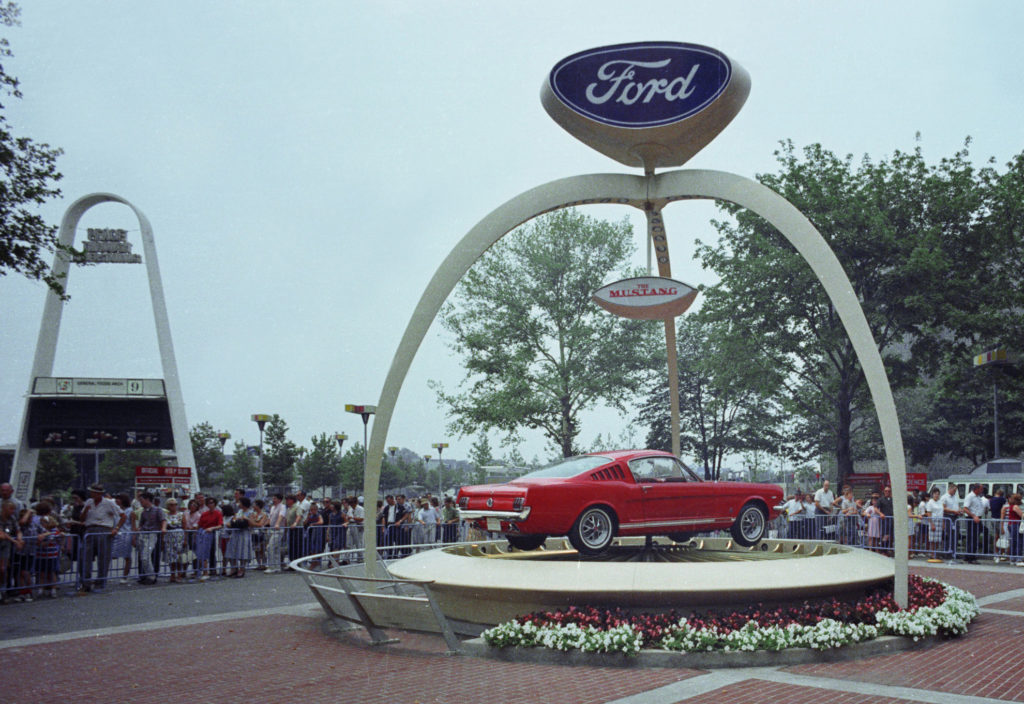 Picutre of Mustang 1964 World's Fair Ford Exhibit