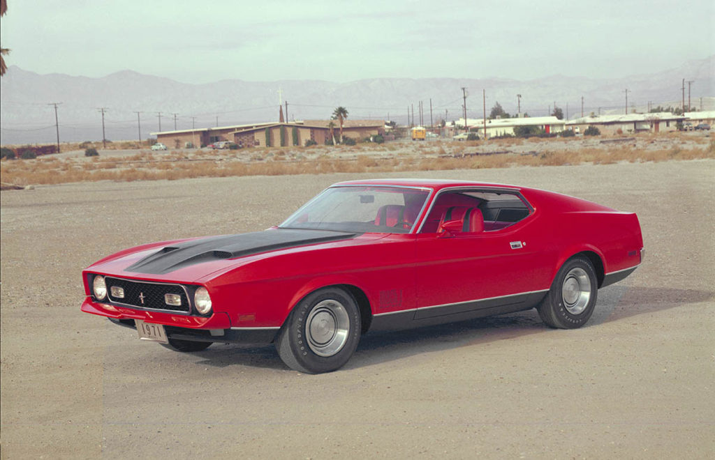 Image of 1971 Ford Mustang Mach1 fastback