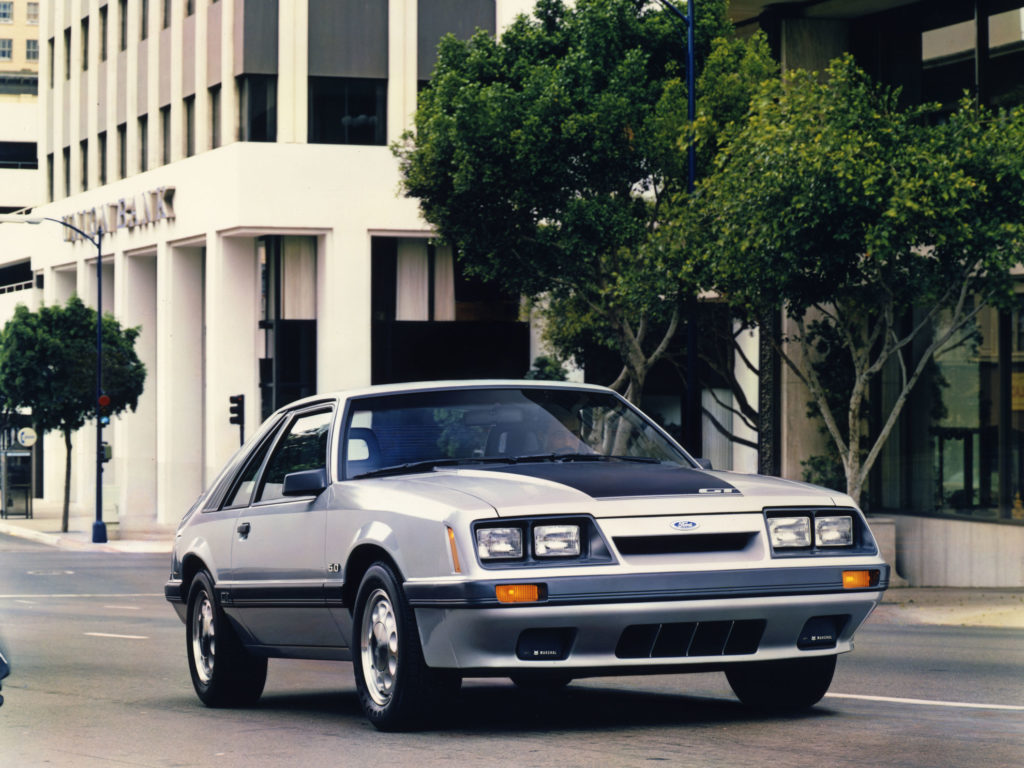 Image of 1986 Ford Mustang GT