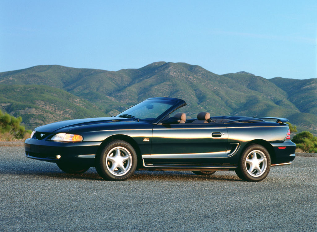 Image of 1994 Ford Mustang convertible