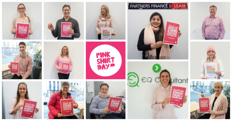 Pink Shirt Day NZ - Partners Finance & Lease